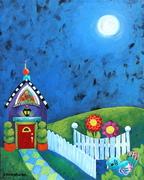 Cottage at Midnight