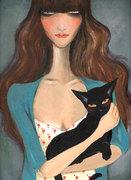 Painting : Wednesday girl
