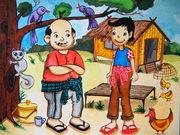 Cartoons : water color