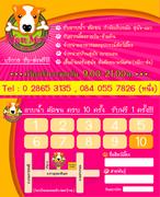 Petshop Name card