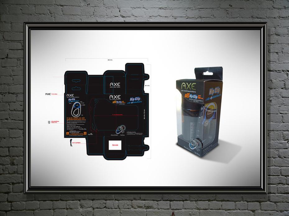 AXE Packaging HIP Clip