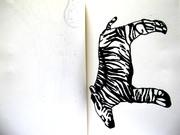 zebra rubber