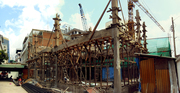 structural work progress