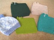 19 PJ Squares & 1 hat