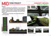 Project midterm ออกแบบพื้นที่เขตทางหลวง