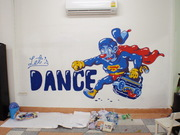 Let's DANCE ( WALL PAINTING )