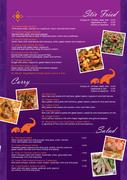 Thai it again MENU