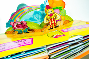THESIS- Popup Book - Exercises for children.