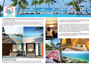 Artwork Twin Page of  KC Grande Resort & Spa(Koh Chang Guide Book Issue 22)