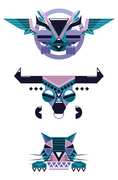 totem  character design