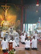 Santa Missa tridentina de São Pio V.