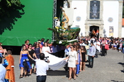 Procissão em honra do Padroeiro São Pedro.