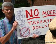 Hey, Ed -- Read the sign: NO!