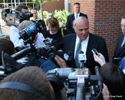 The media at the feeding trough.