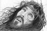 Jesus com a coroa de espinhos