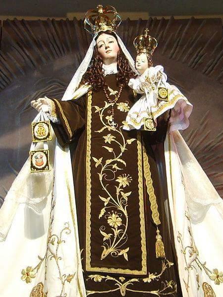 Virgen del Carmen patrona de Chile