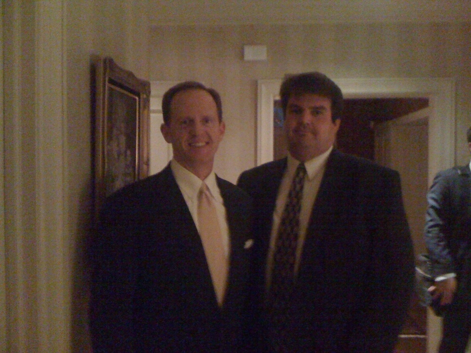 steve with Pat Toomey 002
