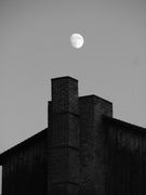 Moon Over Curtin Village