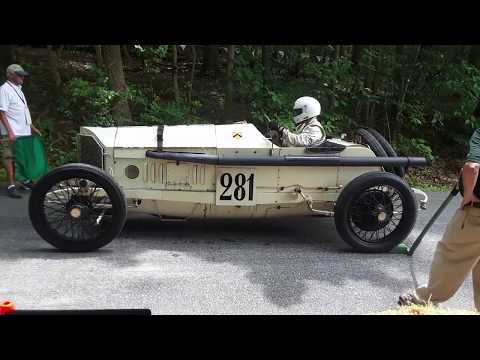 Hal Fillinger's 1912 Mercedes Grand Prix Special  At the 2019 Grand Ascent