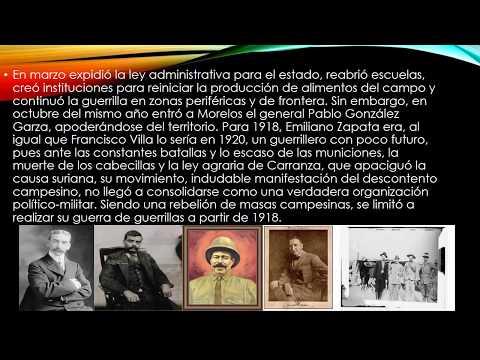 Emiliano Zapata  y Francisco   Villa     una  Revoluciòn