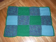 Cable Blanket #6
