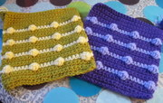 Rainbow Bobble Squares