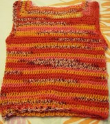seamless crochet slipover