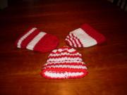 3 Soccer Hats