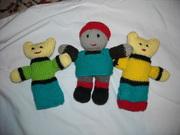 three soft toys 001