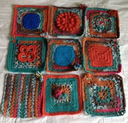 May variegated yarn challenge