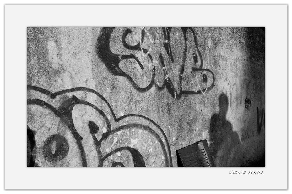 Grafiti bw