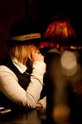 El Bandoneon Girl with hat