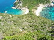 The twin beach