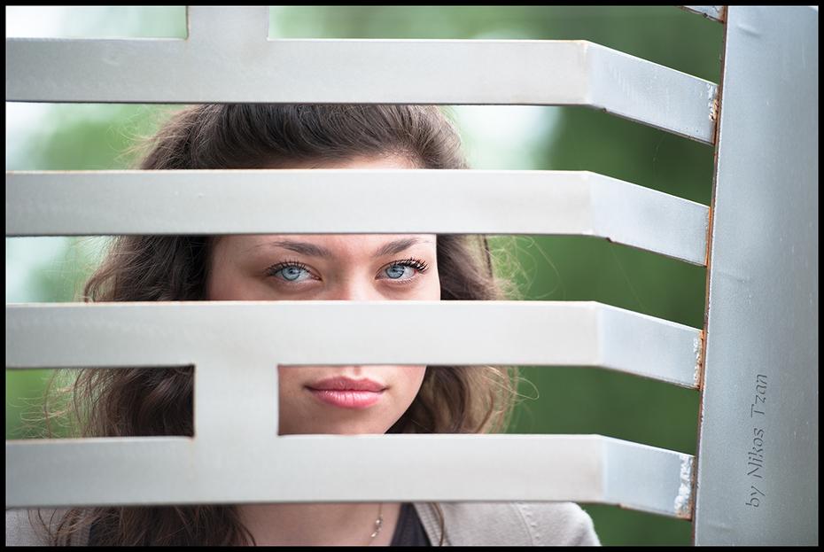 Behind the bars....