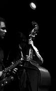 bass & sax.