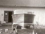 Jag byggde en gång en båt.
