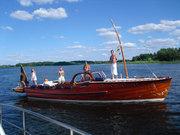 Båtliv, CG Pettersson 1947 M/Y Sanna sommaren 2010