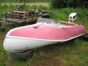 Aluminiumbåten hämtas i Sälen.....2011-07-01 008
