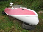 Aluminiumbåten hämtas i Sälen.....2011-07-01