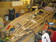 Del 2 Forts Stor-Speedy XL + Ändring av fören 2011-11-12