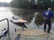 Robert Sollares MadCap först i sjön