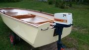 Båten 'färdig'.