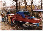 Vätö Kabin Carmen 1975 sjösättning