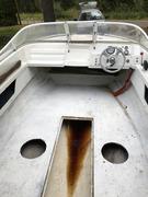 Renovering av en Sea Ray SRV 180. 70-tal.