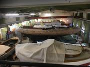 En av lokalerna hos Föreningen Carlscrona veteranbåtar.