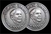 "2009 Obama Tin-Penny... ""In Me, you trust!"""