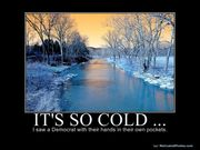 Its so cold