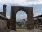 El Foro en Pompei