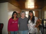 Karla, Jane Kelley y yo