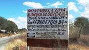 Zona Arqueológica de Teocatitlán y Exposición de Tumbas de Tiro, en Silao, Guanajuato.
